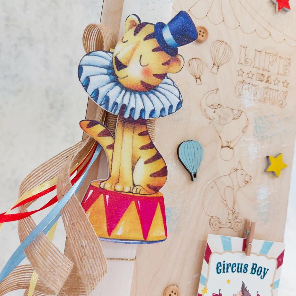 Λαμπάδα λιοντάρι τσίρκο